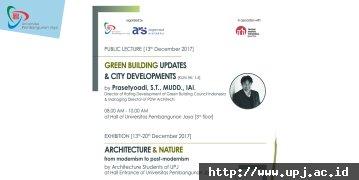 Green Building Updates & City Developments