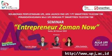 Entrepreneur Zaman Now!
