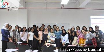 Kuliah Tamu Kode Etik  PSI UPJ dan HIMPSI Banten