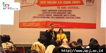 UPJ Membekali Lulusan dengan Sertifikasi
