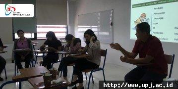 Generasi Milenial dan Pilihan Berkarir di Startup Company: Seminar Human Resource di UPJ
