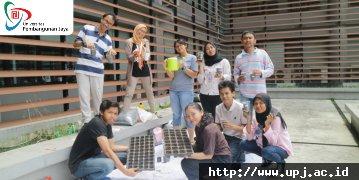 Berkebun Vertikal Bersama Warga Komplek Villa Mutiara, Ciputat, Tangerang Selatan